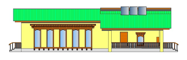 Design of Early child care Development Centre